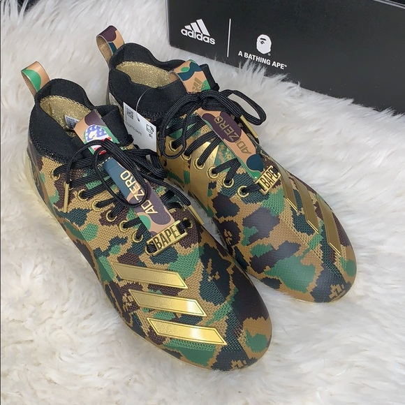 739a27f37 ADIDAS X BAPE CLEATS Limited Addition SOLD OUT